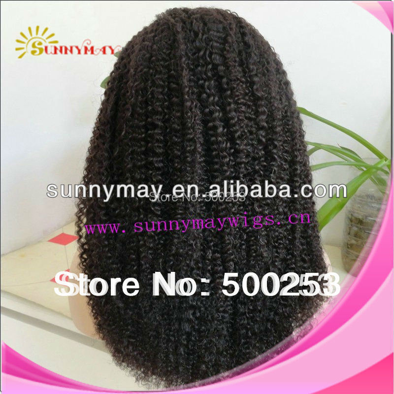 Sunnymay  wholesale hair cheap bleached konts  loose curl Indian remy hair lace front wig.<br><br>Aliexpress