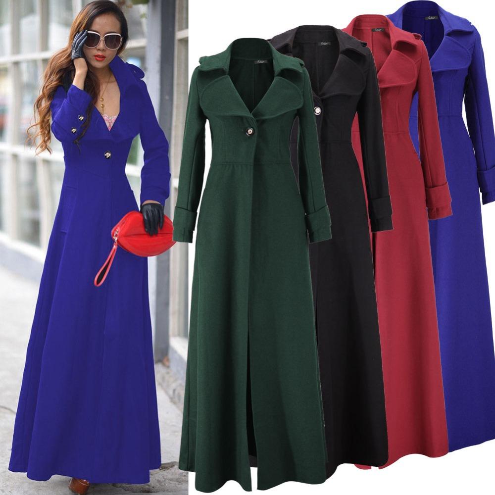 Long Black Dress Coat