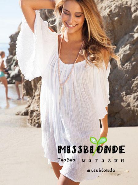 Beach Dress horn T45522510749 Free Shipping(China (Mainland))