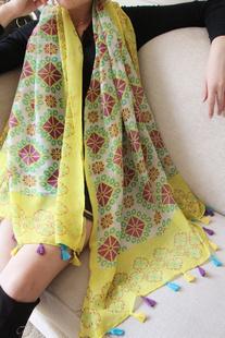 2016 весна и лето вуаль air - полотенце пляжные полотенца шелковый шарф бренд и хлопок шарф женщин