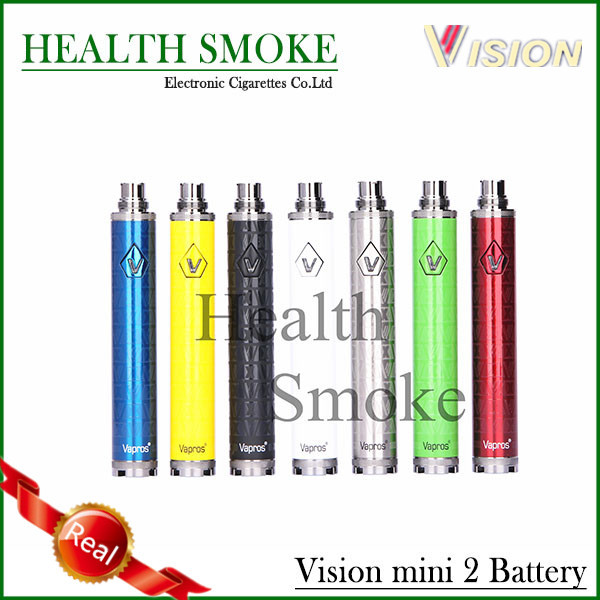 Newest Genuine Vision Spinner 2 mini battery Variable Voltage 850mAh Rechargeable Vision Spinner II mini battery free shipping