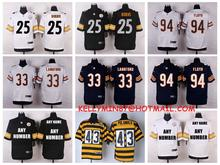 Stitiched,Pittsburgh Steelers,Ben Roethlisberger,artie burns,leveon bell,Jeremy Langford,customizable(China (Mainland))