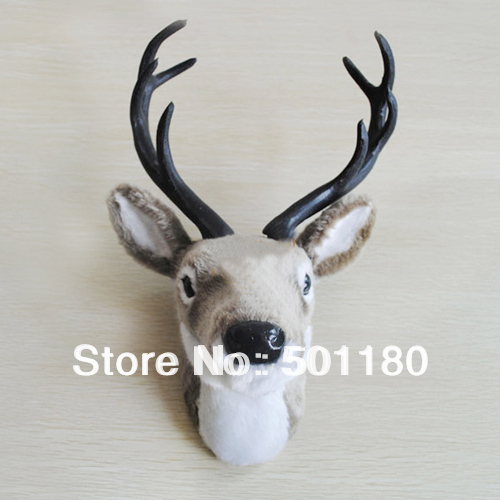 free shipping house decor wall decoration hangings deer head wall decoration craft deer head(China (Mainland))