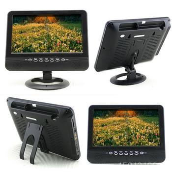 9.5 INCH CAR COLOR TFT LCD ANALOG TV AV PLAYER MONITOR WITH  PORT SCA-13621