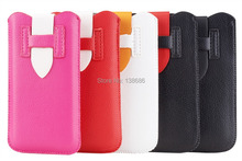 20pcs/lot H Pattern PU Leather Sleeve Bag Pull Tab Pouch Case for iPhone 5 5S 5C, Free&Drop Shipping(China (Mainland))