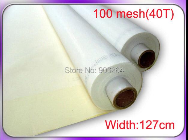 100% silk screen mesh fabric 40T(100 mesh) screen fabric silk screening mesh(China (Mainland))