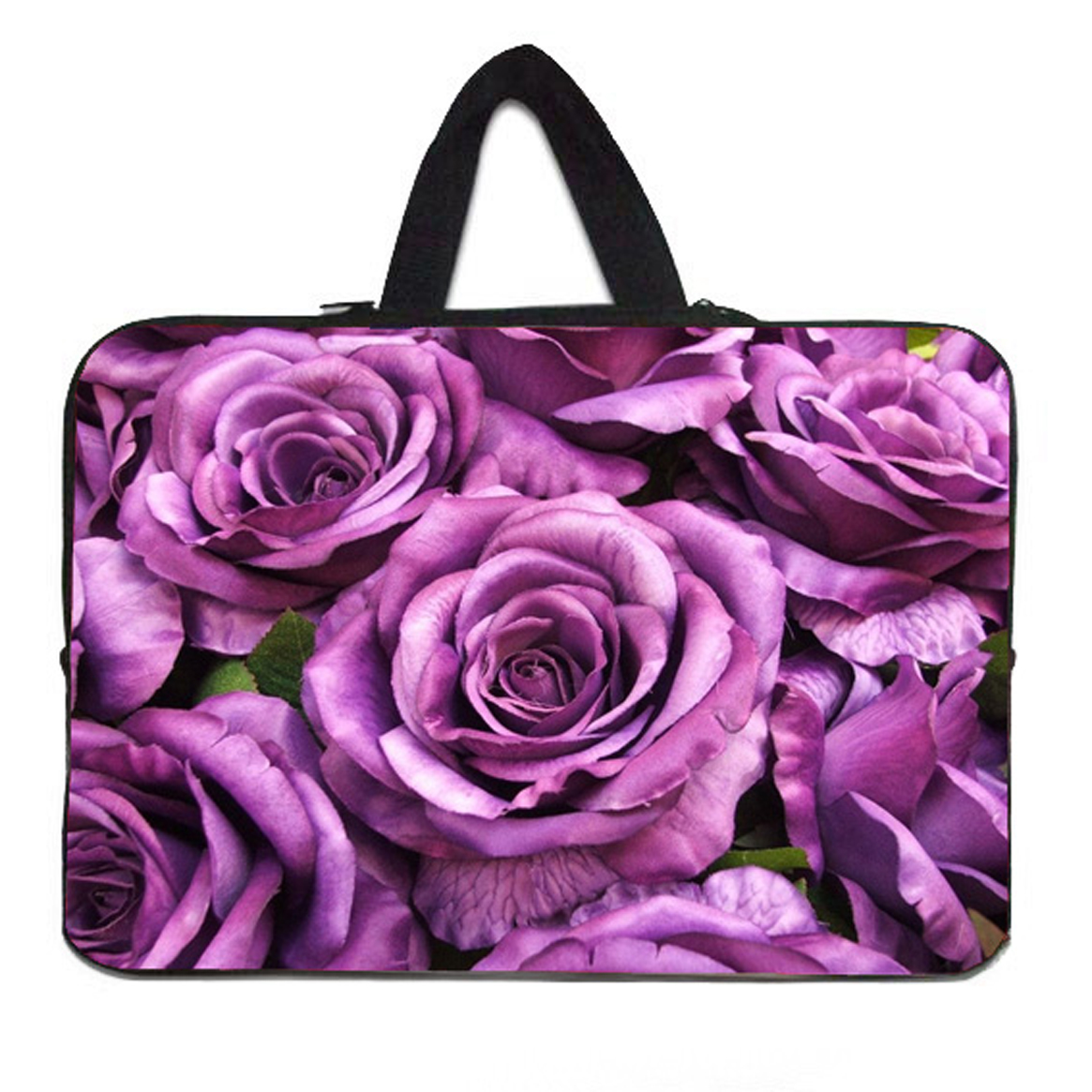 "Flower bags on the ocean Flower neoprenp 14 inch 14.1"" 14.2"" 14.4"" Laptop soft Sleeve Bags 14""Computer Accessories + Hide Handle(China (Mainland))"