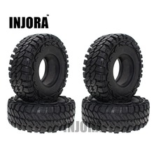 Buy 4PCS 114MM 1.9 Inch Rubber Wheel Tires 1:10 RC Rock Crawler Car Axial SCX10 90046 Tamiya CC01 RC4WD D90 D110 for $17.98 in AliExpress store