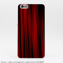 2358Y Texture Red Curtains Hard Case Transparent Cover for Huawei P6 P7 P8 Lite Honor 6 7 4C 4X G7(China (Mainland))