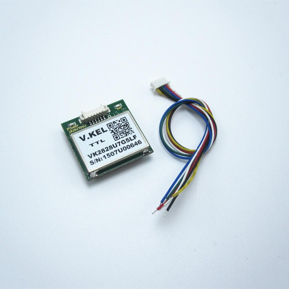 VK2828U7G5LF ublox GPS Module with Antenna TTL Signal Output FZ0517 Free Shipping(China (Mainland))