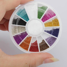 2000pcs resin round beads 5mm resin rhinestone Nail Art Rhinestone nail art decorate diy
