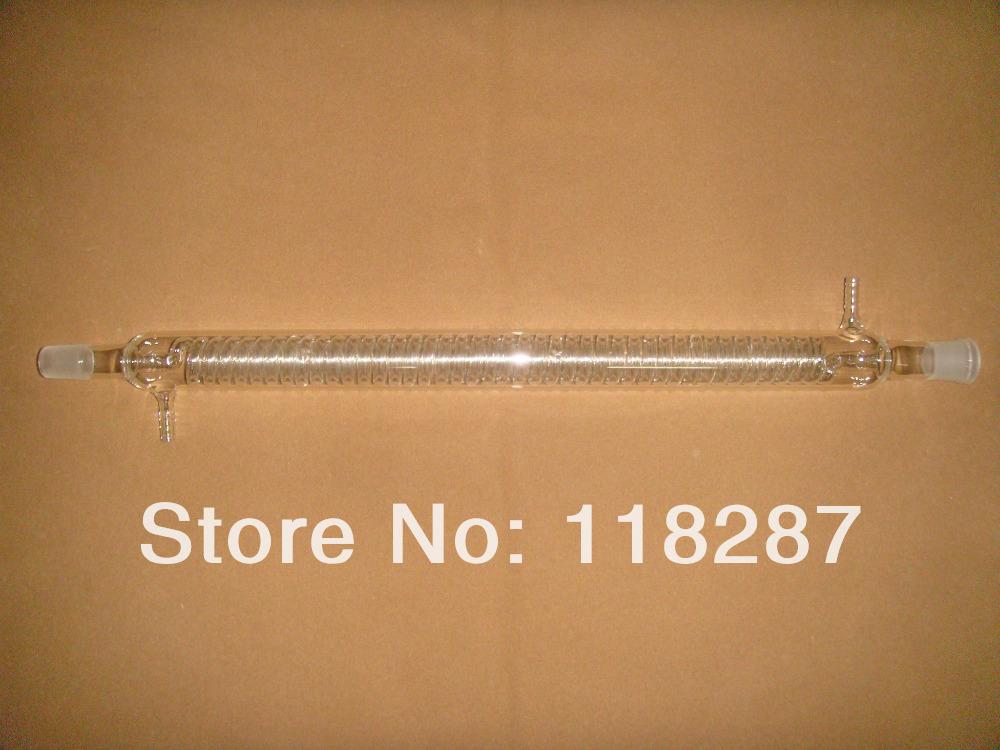 500mm,24/29,Graham Condenser,Coil Condenser,Lab glassware,lab condenser,glass condenser(China (Mainland))