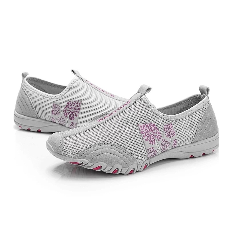 Women Flats Women Summer Shoes Breathable Flat With Single Shoes Fashion Female Loafers A700
