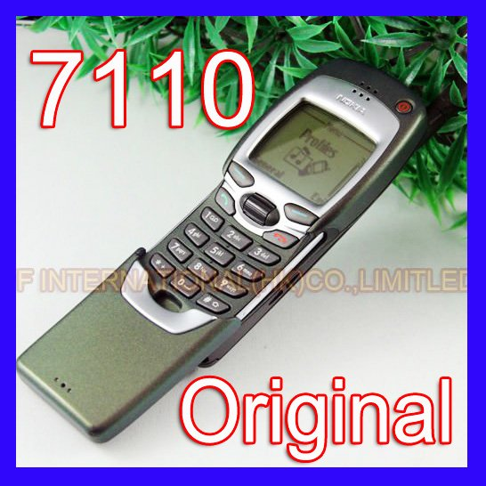 Refurbished 100% Original Nokia 7110 Mobile Cell Phone Classic 2G GSM 900/1800 Unlocked Silder Cellphone 7110(China (Mainland))