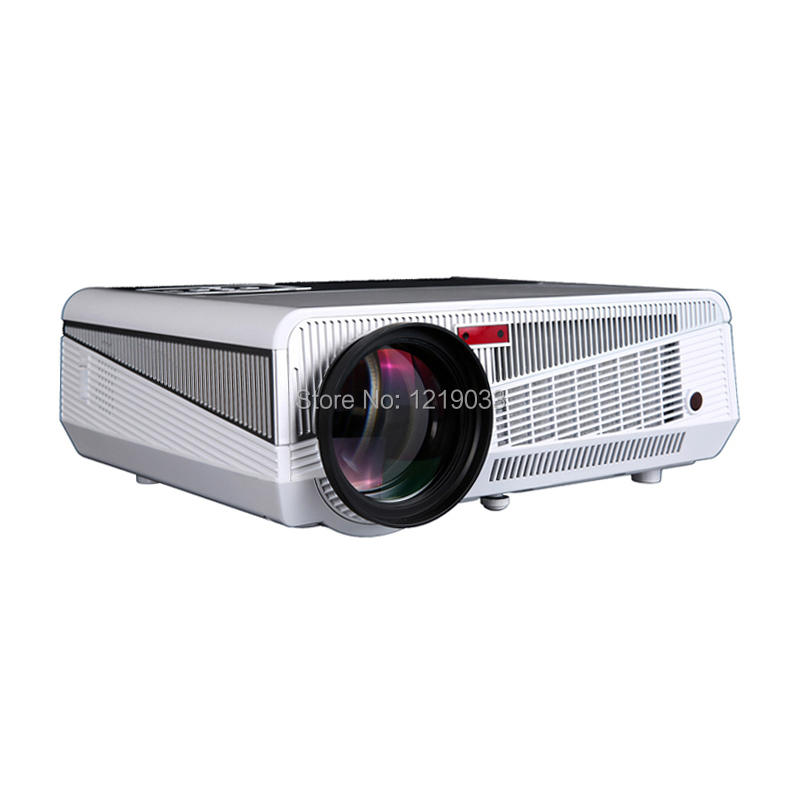 Free Shipping 2016 Bl35 Projector Full Hd Tv Home Cinema: 2016 New High Brightness 5600 Lumens Home Theater