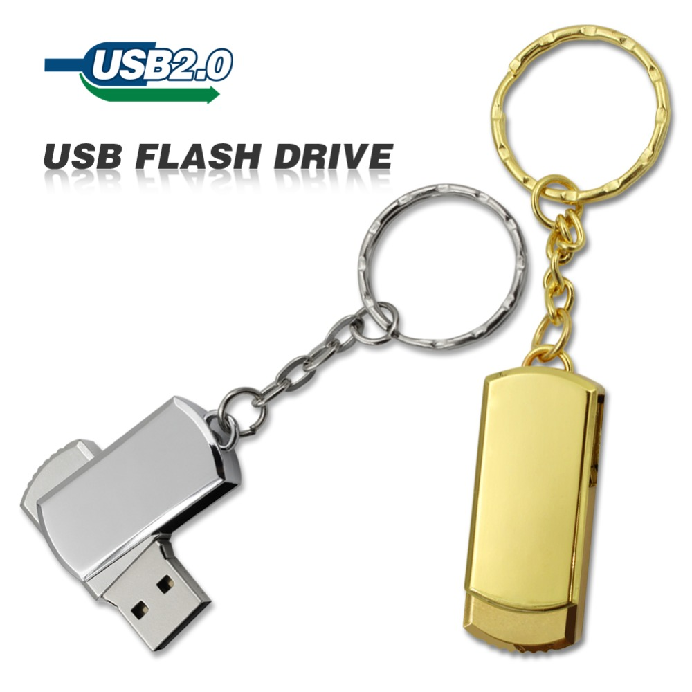 Hot Selling free shipping 32GB 16GB 8GB USB Drive Flash Stainless Steel USB 2.0 Flash Memory Pen Drive pendrive(China (Mainland))