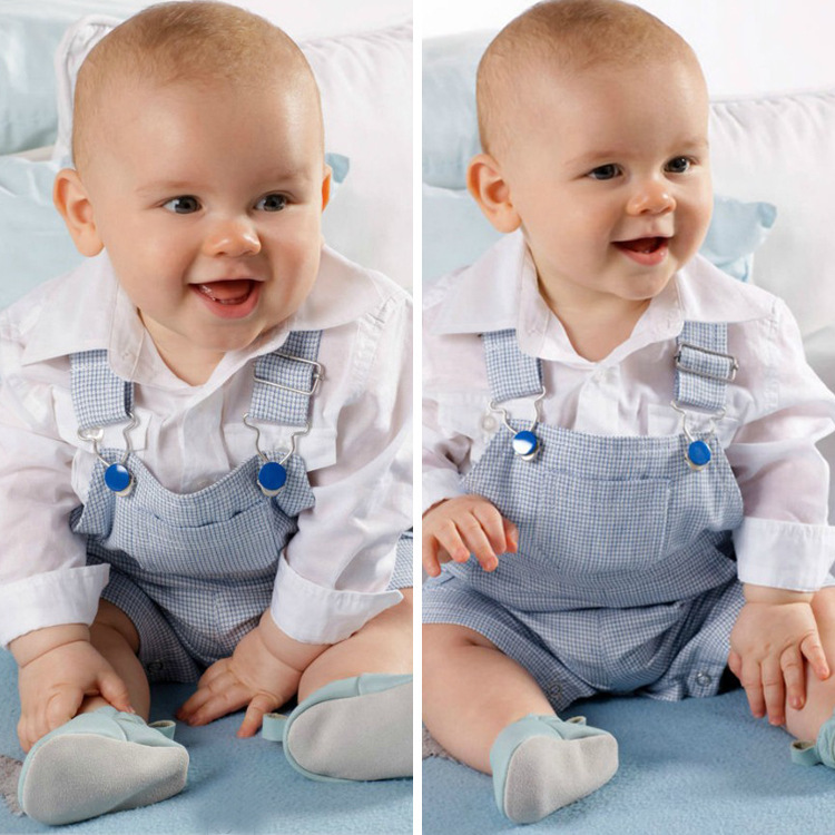 Autumn handsome boy casual shirt + overalls ,baby boys cow suit c2058(China (Mainland))
