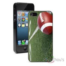 Football on Field Protector back skins mobile cellphone cases for iphone 4/4s 5/5s 5c SE 6/6s plus ipod touch 4/5/6