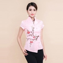 High Quality Summer Cotton Chinese Style Women Tang Suit Tops Blouse Vintage Traditional Chinese Shirt M L XL XXL XXXL 4XL T29