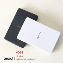 Free shipping 2016 New Style 2.5 inch Twochi A1 USB2.0 HDD 40GB Slim External hard drive Portable Storage disk wholesale Price(China (Mainland))