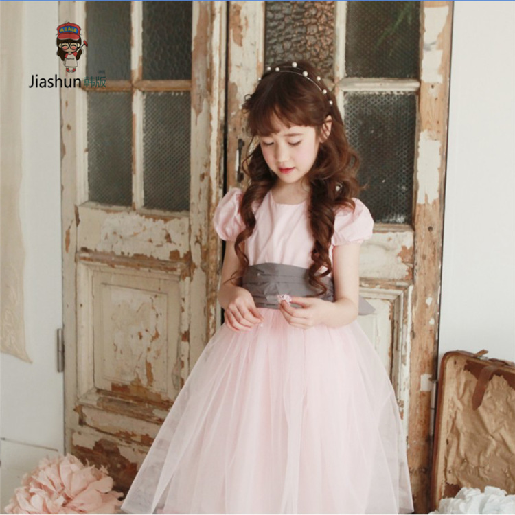 Teenage Girls Dresses Fit 4-15Y Kids Summer Dress Girl Clothing 5pcs/lot Free Shipping<br><br>Aliexpress
