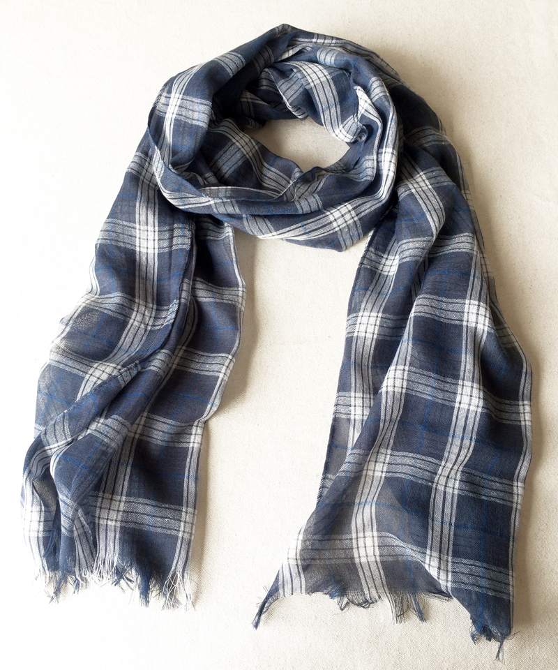 Classical Tartan Scarf Women Slight Soft Scarves Summer Scarves Cotton Thin Shawl Japanese Style NEW 2016(China (Mainland))