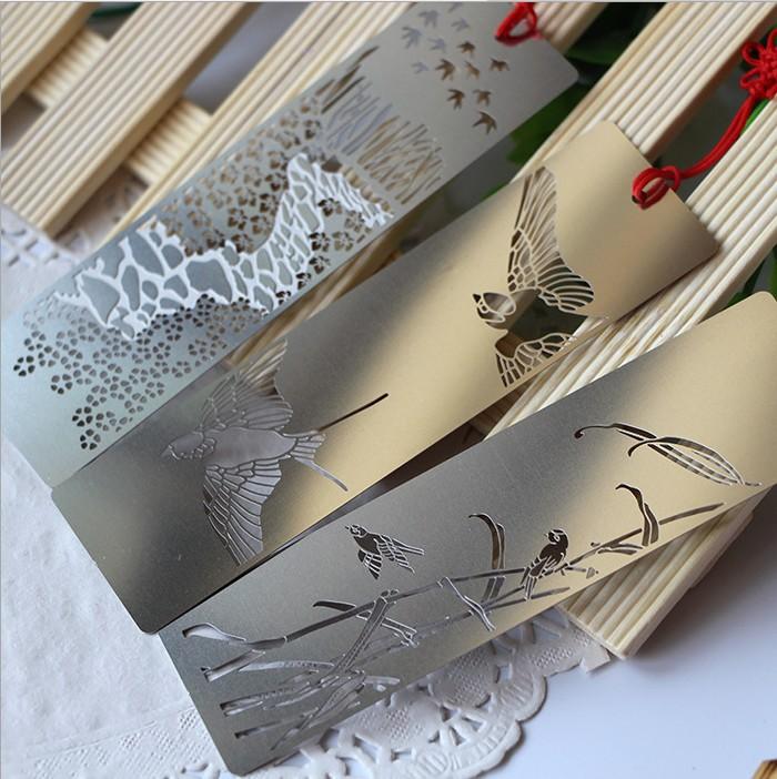 product 6 design animals Birds metal bookmark // book holder/bookmarks for books/articulos de papeleria/marcador de livro 30 pcs/lot