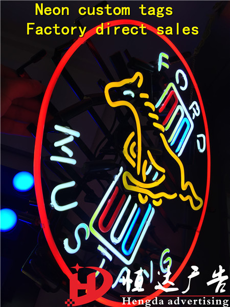 The neon lights light neon lamp manufacturers selling Shanghai custom tags(China (Mainland))