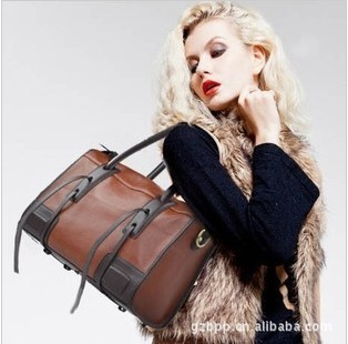 Most Popularity Vintage Knight Bags Elegant  Motorcycle bag hot sale PU shoulder bags BB25