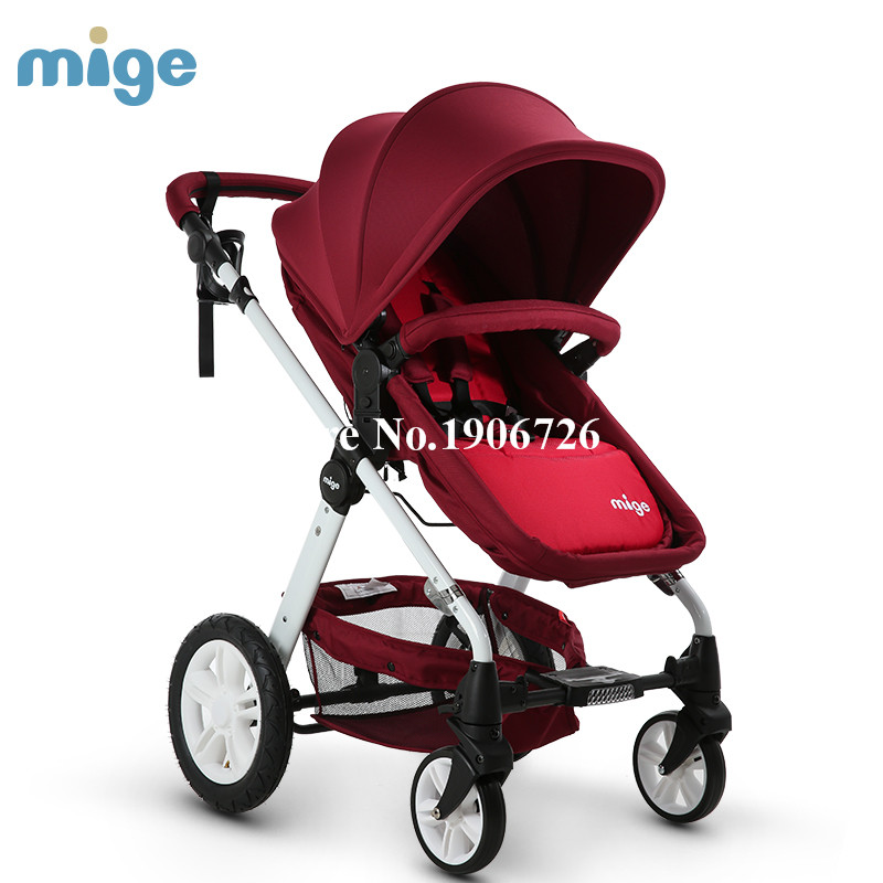 baby stroller baby car light inflatable umbrella wheel baby stroller 3 in 1 stroller babybuggy shock absorbers baby trolley(China (Mainland))