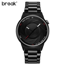 Buy Break Unique Design Photographer Series Men Women Unisex Brand Wristwatches Sports Rubber Quartz Creative Casual Fashion Watches for $22.55 in AliExpress store