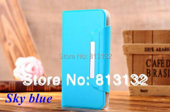 4.8 to 5 inch leather case for Umi S1 X2,Voto X2,Star N9500,Feiteng H9500,THL W8,Samsung S4 i9500,General mobile phone case
