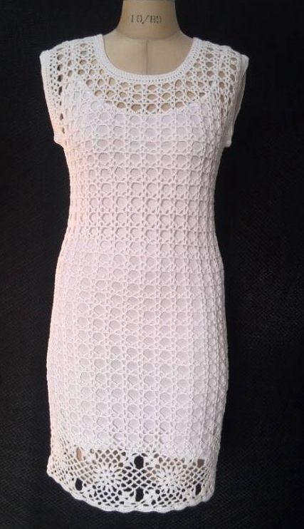 women summer handmade crochet dress Cute Dresses, Trendy Tops with spandex slip DRESS(China (Mainland))