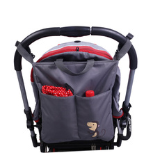 Diaper Bag Tote Shoulder Multifunction baby bag Baby Stroller Bag Organizer Baby Car Hanging Basket Storage Stroller Accessories(China (Mainland))