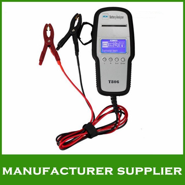 2015 Top-Rated Free Shipping Auto Battery Tester T806 with Printer Launch Auto Battery Tester T806/T 806/T806