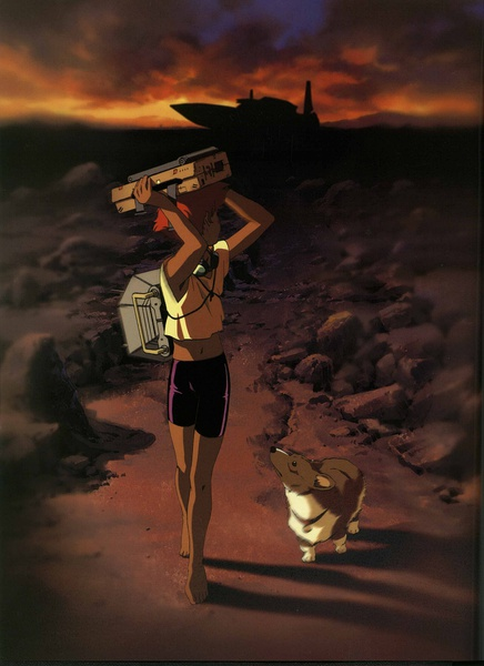 "FREE SHIPPING ""Cowboy Bebop"" Movie Poster 24x36 inches 1998(China (Mainland))"