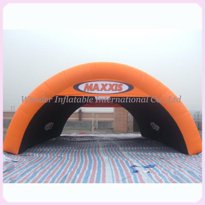Cheap oxford fabric 8m inflatable arch tent outdoor events