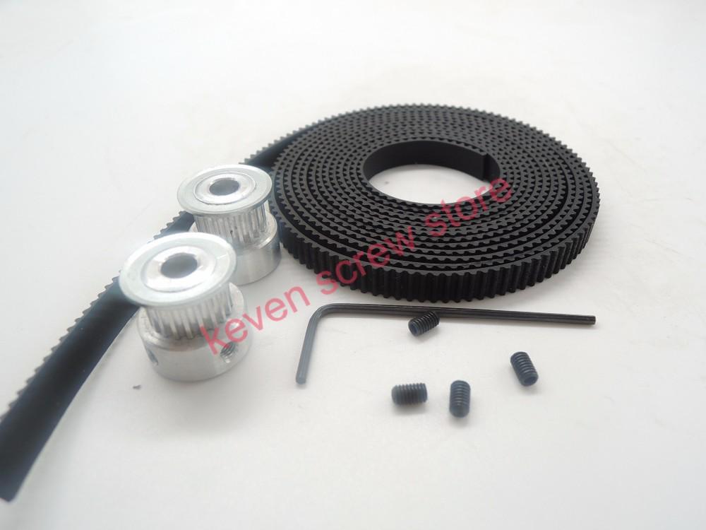 Timing Belt Pulley Price : Buy teeth gt timing pulley bore mm m belt