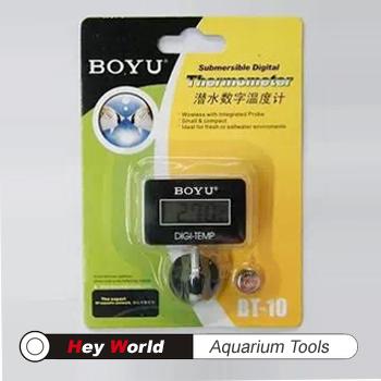 ... LCD digital electronic thermometer turtle tank aquarium water BT-10