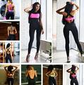 9 Color 2016 Running Fitness Sport Jumpsuit Rompers Skinny Bodysuit Fashion Bandage Slim Elasticity Combinaison Femme
