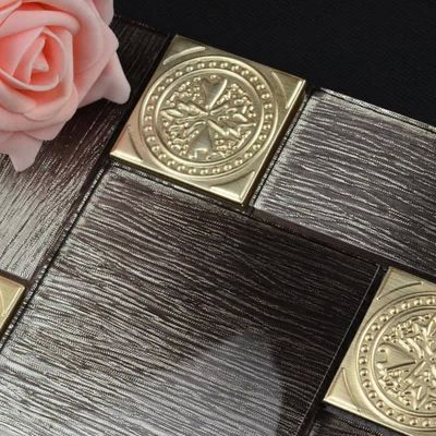 low-key luxury gold foil with black crystal glass mixed stainless steel mosaic tiles for kitchen backsplash decoration<br><br>Aliexpress