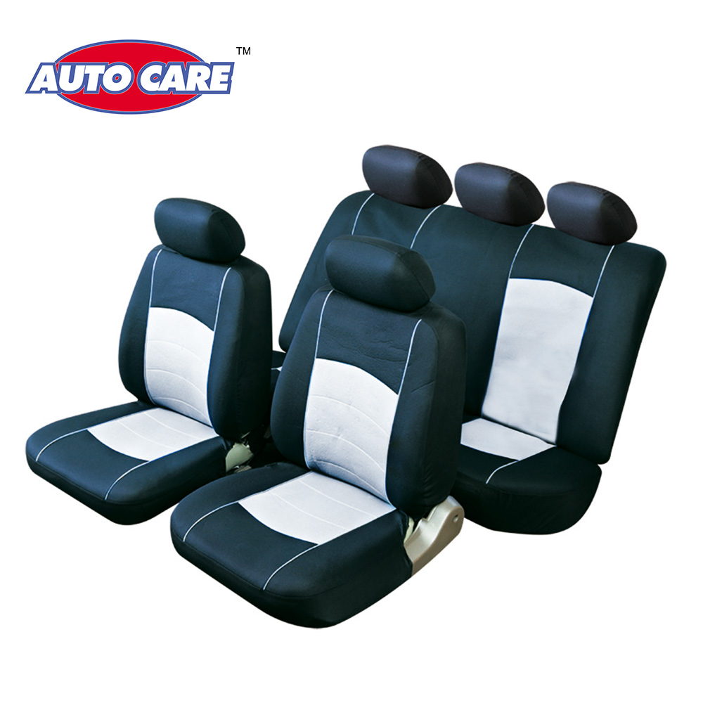 Auto Care 4pcs Front Car Seat Covers And 9pcs Full Seat