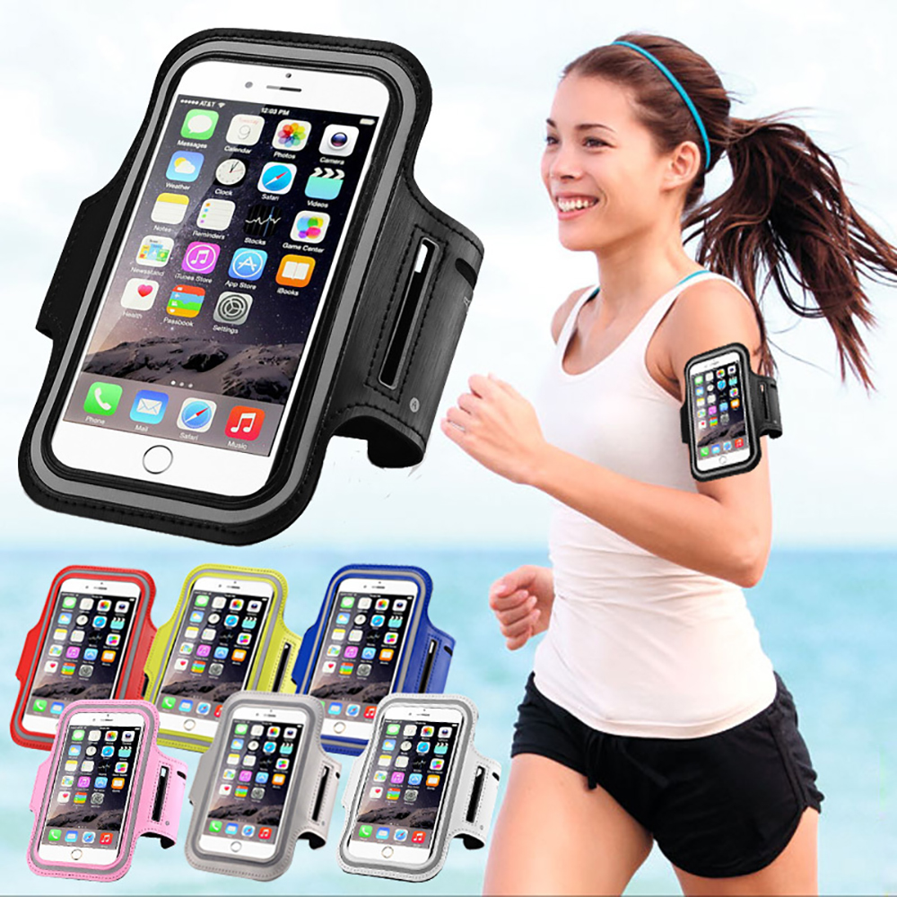 For iPhone 7 Plus Running Sport Gym Armband Bag Case For iPhone 6 6s 7 7s Plus Pro Waterproof Jogging Arm Band Phone Belt Cover(China (Mainland))