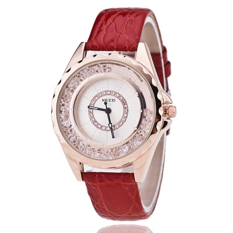 High Quality Top Brand KEZZI Luxury Women Watches  Leather Quartz Watch Women Fashion Dress Watches relojes mujer montre femme<br><br>Aliexpress