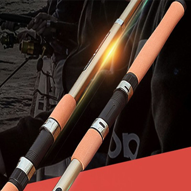 DDL-1 2.1-3.6m Telescopic fishing rod carbon fishing pole super hard distance throwing rod hiqh-quality fishing rod(China (Mainland))