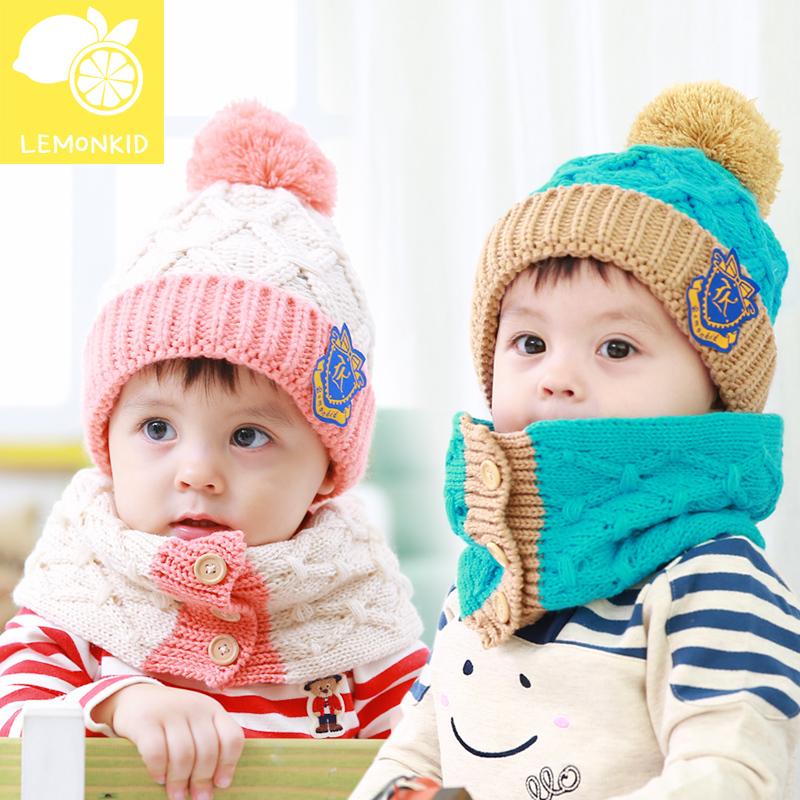 Зима 5-Star дети маски и шапки шарф шляпа комплект мальчики-младенцы девочки трикотаж дети шляпы и шапки