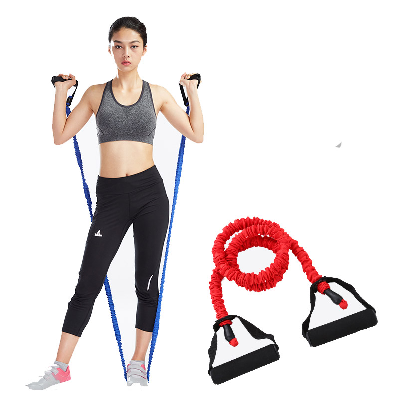 Fitness Rubber Yoga Chest Expander Pull Stretcher Gym Exercise Muscle Training