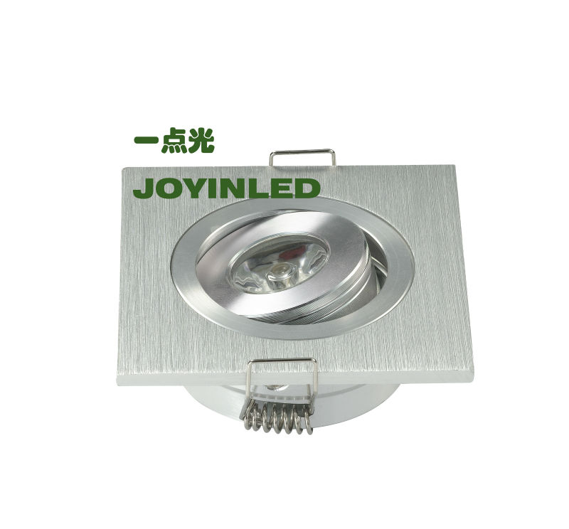 Dimmable High power led 3w mini ceiling down light AC85-260V recessed led light for home(China (Mainland))