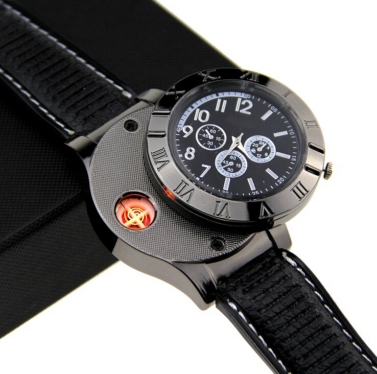 Functional-Windproof-Lighter-men-s-USB-Charge-sports-casual-quartz-Watches-wristwatches-for-men-relogio-masculino (2)