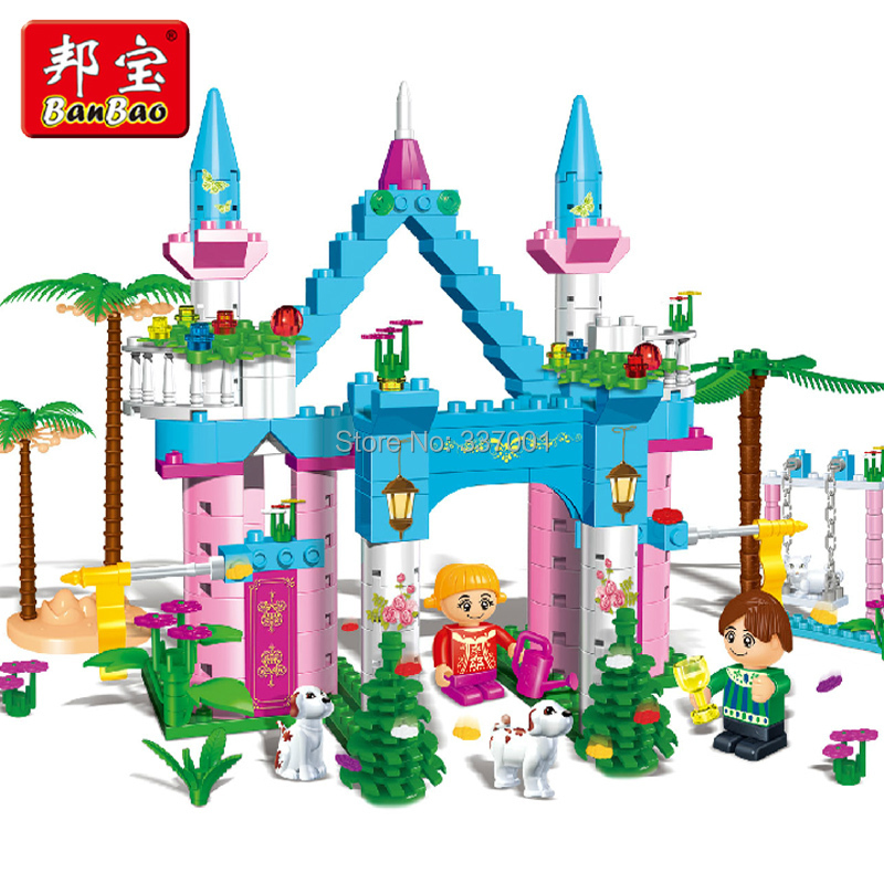 2015 authentic girl assembled building blocks Fancy hold plastic toys Compatible lego - Online Store 337001 store